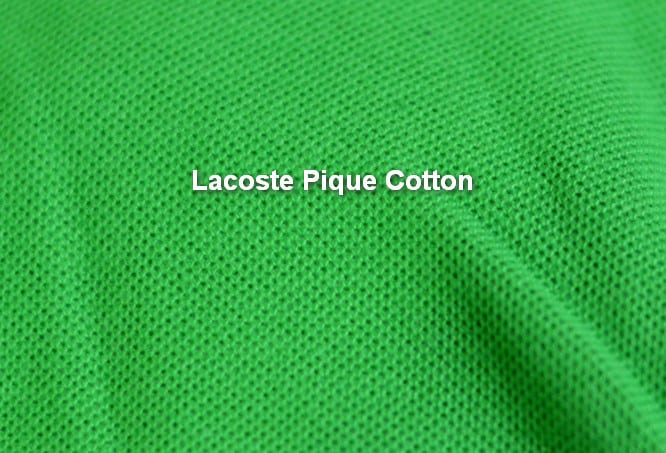 kain lacoste cotton